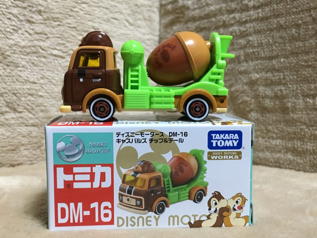 ディズニーモータースDM-16 キャスパルズ-チップ&デール-ピコレグ