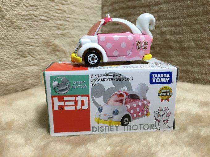 【トミカ】ディズニーモータースセブン&アイ特別仕様車「リボン リボンエディション」タップ-マリー‐ピコレグ