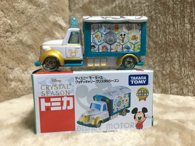 ディズニーモータースセブン&アイオリジナル商品グッディキャリー-クリスタルシーズン-ピコレグ