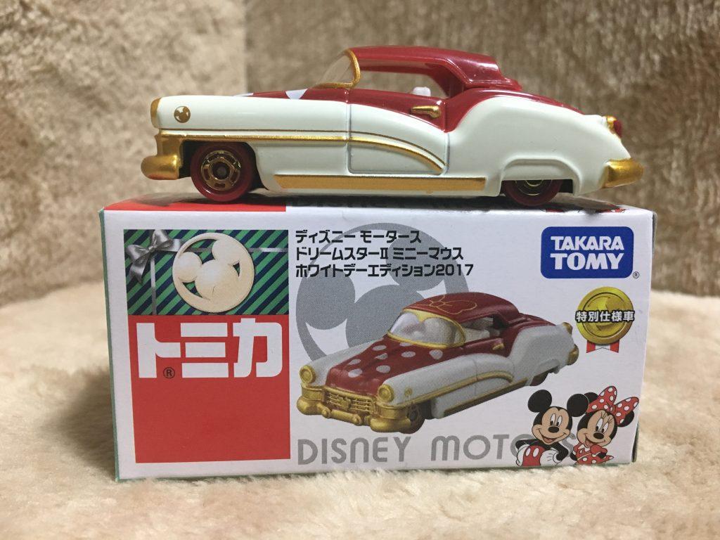 ディズニーモータース ホワイトデーエディション2017 ドリームスターⅡ ミニーマウス-ピコレグ