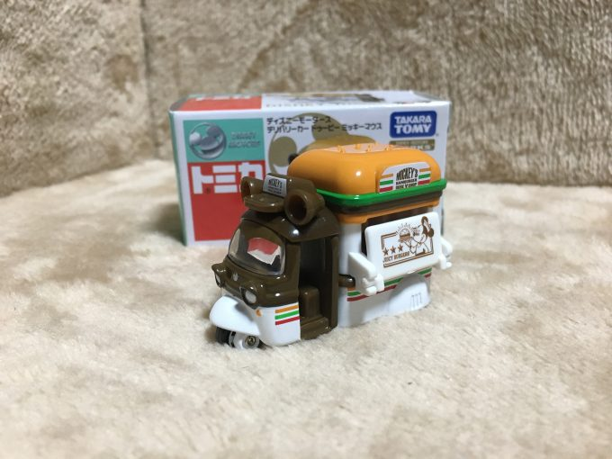 ディズニーモータース セブン&アイ特別仕様車「デリバリーカー」 ドゥービー ミッキーマウス-ピコレグ