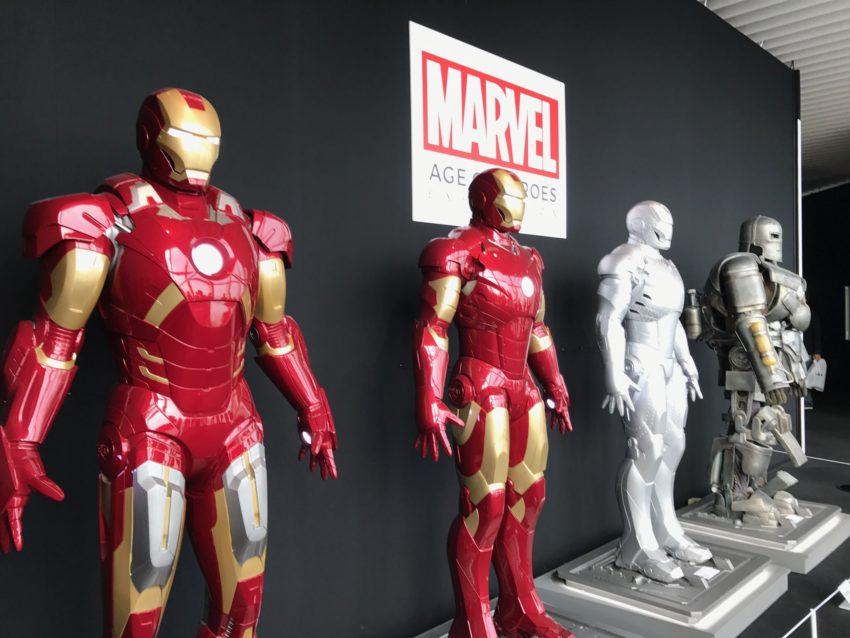 アイアンマン展示-ピコレグ
