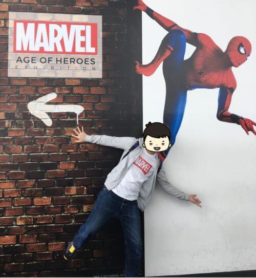 記念写真「スパイダーマン:ホームカミング」2-ピコレグ